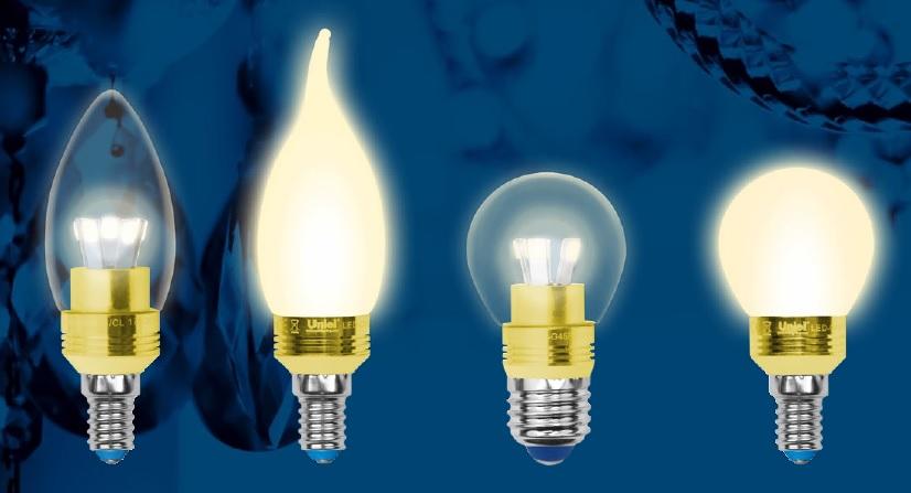 светодиодная лампа, форма