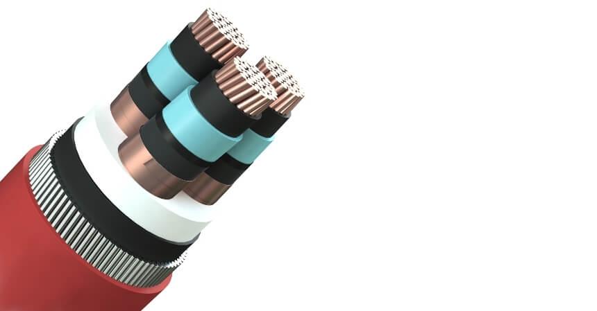 структура кабеля, стойкого к сторонним воздействиям