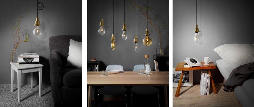 стилизованные led лампы